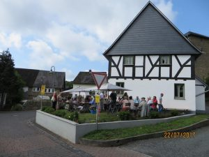 Cafe Haus Engels geöffnet @ Haus Engels